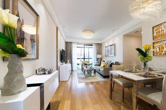 20万以上110平米三室两厅新古典风格客厅设计图