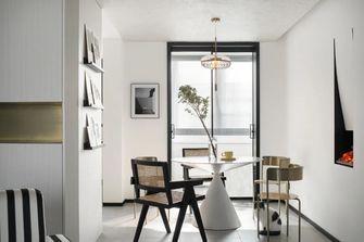 80平米三室两厅现代简约风格餐厅装修图片大全