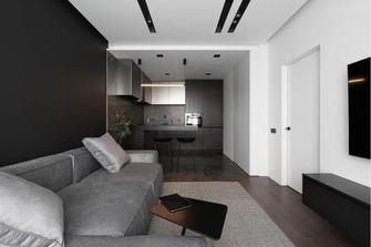 10-15万60平米现代简约风格客厅图