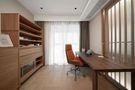 10-15万110平米三室一厅日式风格书房图片大全
