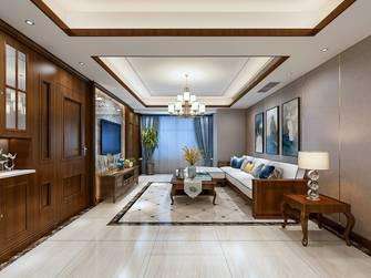 富裕型140平米三美式风格客厅欣赏图