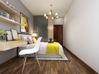 110平米四室两厅北欧风格卧室设计图