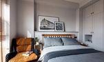 富裕型140平米四室一厅混搭风格卧室装修案例