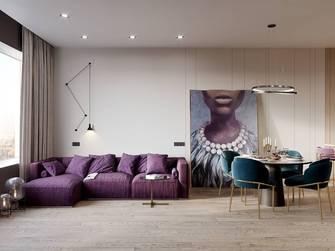 15-20万140平米四混搭风格客厅欣赏图