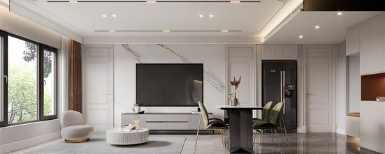 豪华型100平米三室一厅法式风格客厅欣赏图
