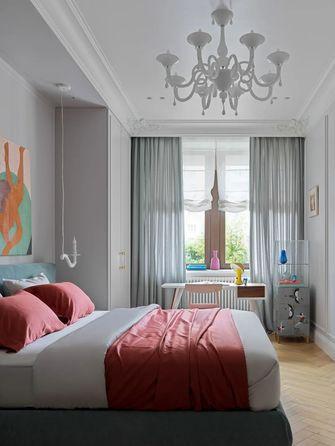 富裕型110平米三室一厅法式风格卧室装修效果图