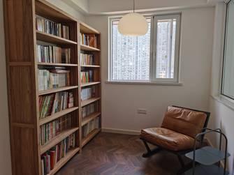 富裕型90平米三室两厅港式风格书房设计图