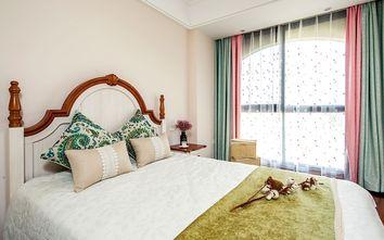 富裕型110平米公寓中式风格卧室效果图