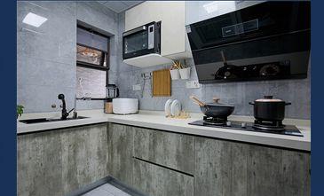 120平米三室一厅轻奢风格厨房图