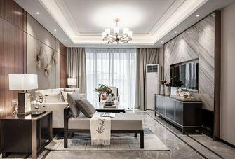 富裕型130平米三室两厅中式风格客厅图