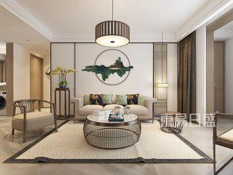 110平米三中式风格客厅图