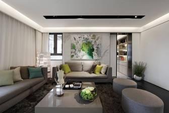 20万以上120平米三室一厅北欧风格客厅装修图片大全