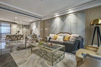 140平米四室一厅美式风格客厅效果图