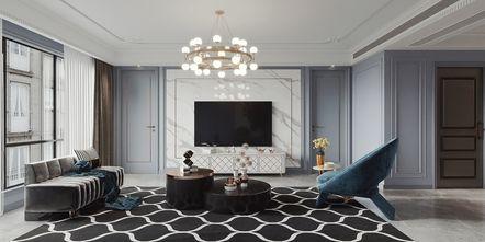 130平米法式风格客厅装修案例