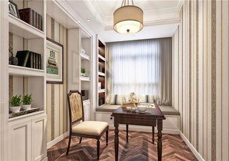 10-15万110平米三室两厅欧式风格书房装修图片大全