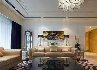 富裕型140平米四欧式风格客厅图