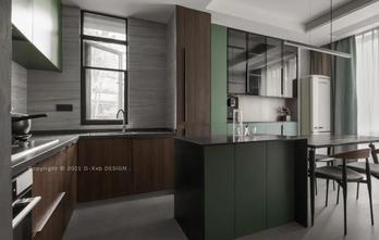 豪华型140平米三室三厅工业风风格餐厅装修效果图