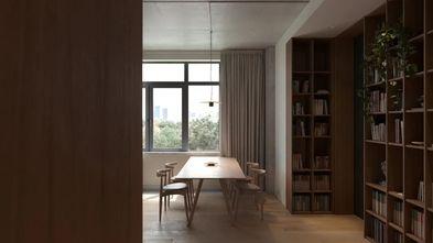 富裕型130平米三室两厅欧式风格书房图