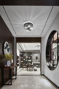 20万以上140平米别墅中式风格走廊设计图