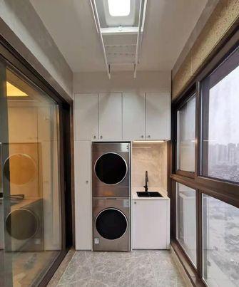 富裕型120平米三室两厅现代简约风格阳台装修案例