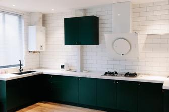 5-10万110平米三室两厅新古典风格厨房图