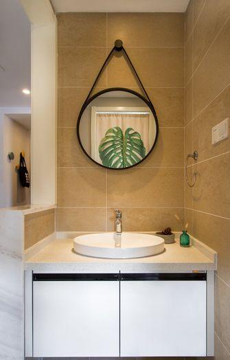 经济型110平米三室三厅北欧风格卫生间装修案例