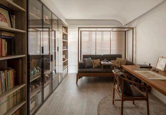80平米中式风格书房图片