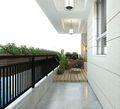 20万以上140平米别墅中式风格阳台设计图