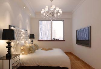 120平米三室一厅欧式风格卧室设计图