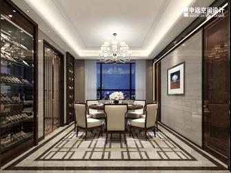 豪华型140平米别墅港式风格餐厅装修效果图