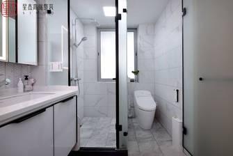 豪华型100平米三日式风格卫生间图片大全