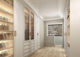 经济型110平米三室两厅法式风格衣帽间图