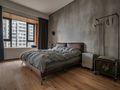 富裕型100平米一室一厅工业风风格卧室装修效果图