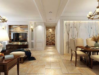 120平米三室两厅美式风格玄关设计图