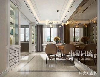 140平米三室两厅轻奢风格餐厅装修案例