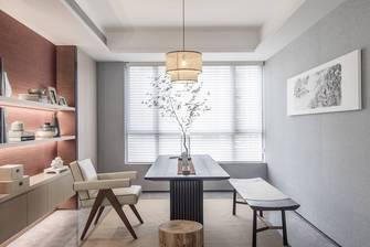 豪华型140平米四室一厅现代简约风格书房图