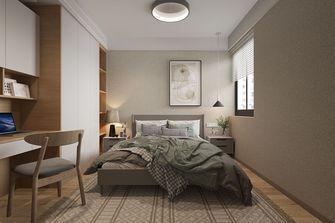 100平米三室两厅日式风格卧室图片大全