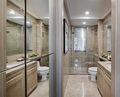100平米三室一厅英伦风格卫生间装修图片大全