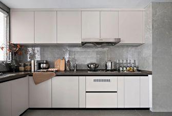 10-15万80平米三室三厅轻奢风格厨房设计图