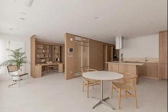 经济型80平米日式风格餐厅图