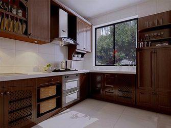 140平米三室一厅新古典风格厨房装修案例