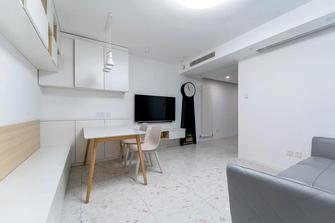 富裕型70平米三现代简约风格客厅图片大全