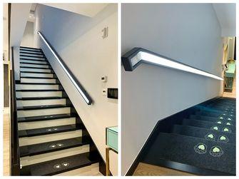 10-15万140平米复式现代简约风格走廊装修图片大全