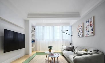 经济型90平米三室一厅北欧风格客厅装修图片大全
