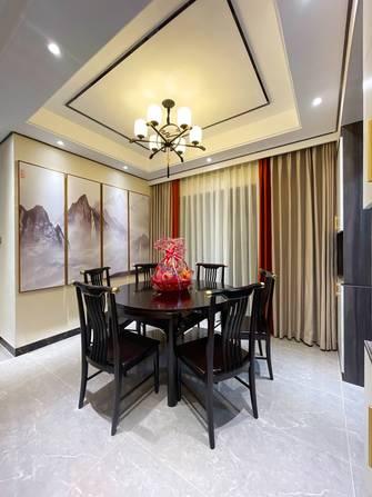 富裕型110平米三室两厅中式风格餐厅效果图