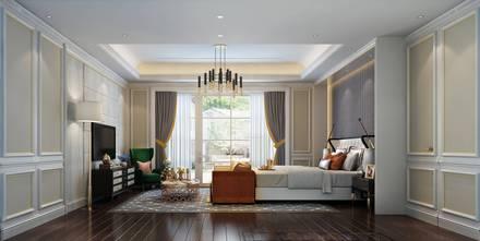 20万以上140平米欧式风格卧室图