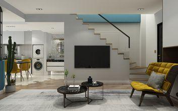 60平米复式北欧风格客厅装修案例
