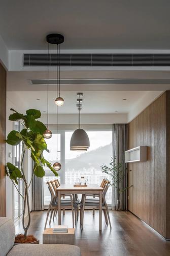 富裕型140平米三室两厅日式风格餐厅图