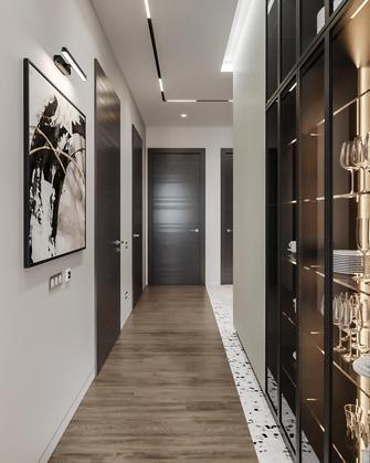 130平米三现代简约风格走廊装修效果图