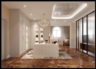 豪华型140平米别墅欧式风格衣帽间效果图